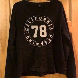 Vintage look MNG sweatshirt lightweight